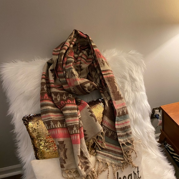 Kids Scarf Beautiful Mori Ridge Elf Muffler Winter Warm Shawl Wrap For Teen